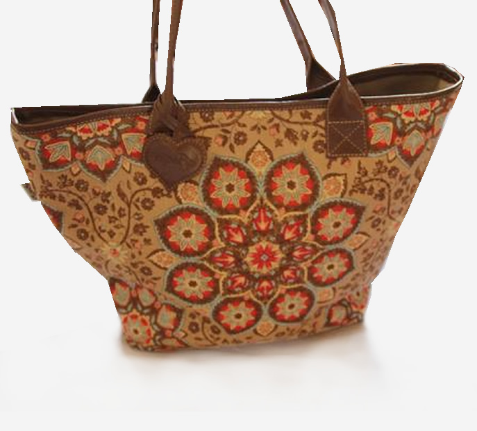 orange paisleybag